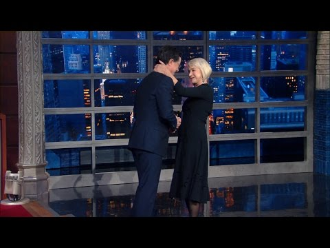 Helen Mirren Leaves Stephen Speechless