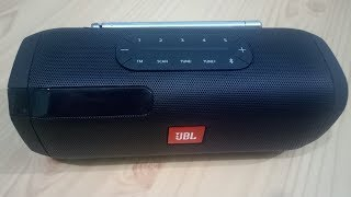 Jbl tuner wireless blutooth speaker | unboxing & Review jbl tuner speaker | jbl FM tuner speaker