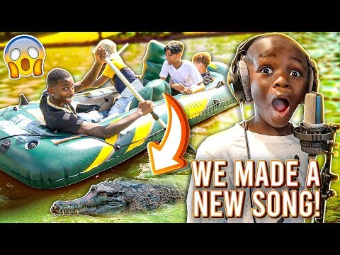 woo-made-a-new-song-&-we-rode-a-boat-in-the-lake!