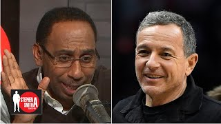 Disney CEO Bob Iger and Stephen A. both loved the Packers' win over Cowboys | Stephen A. Smith Show