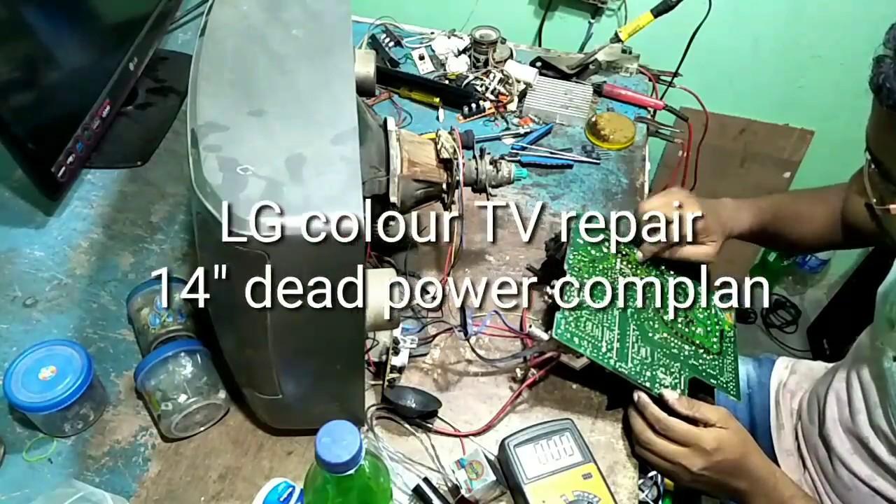 LG colour TV repair 14