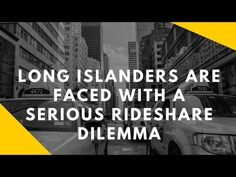 Uber & Lyft Drivers From Long Island New York Face Political and Insurance Issue