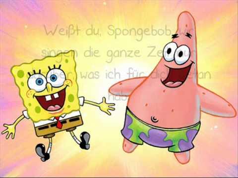 Spongebob Schwammkopf - Der idiot Lyrics♥