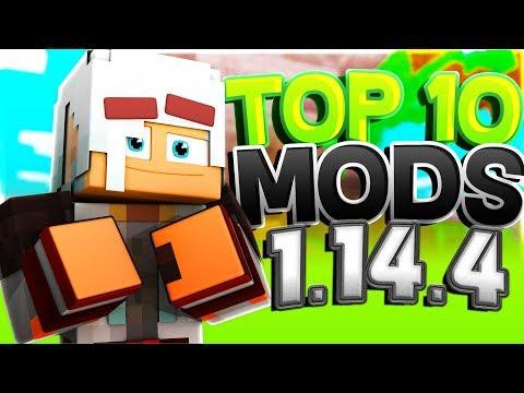 TOP 10 MODS Minecraft 1.14.4 (August 2019)