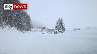 Europe's snow crisis