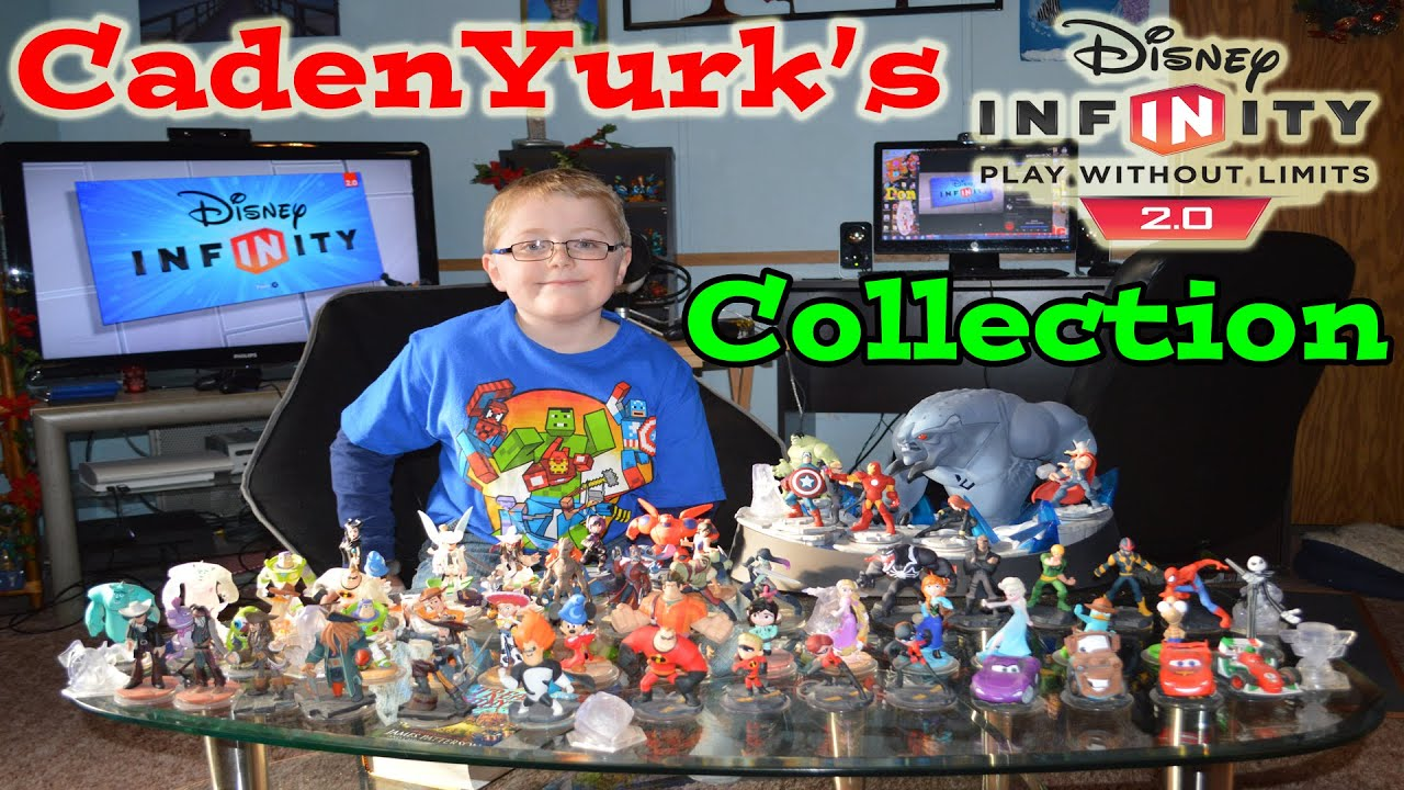 Cadenyurk S Disney Infinity 2 0 Character Collection All Characters Toy Box Originals And