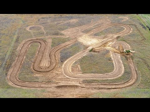 Awesome Dirt Bike Track Rebuild!