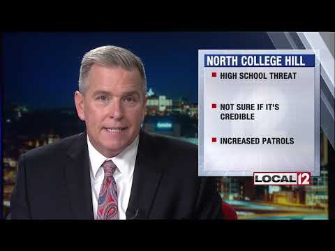 North College Hill High School to see increase police presence after possible threat