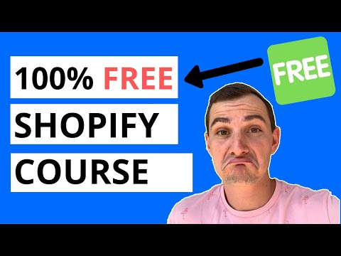 FREE Step-By Step Shopify Dropshipping Course {42+ HOURS} thumbnail