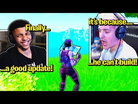 MYTH *EXCITED* After BUILDING *NERFED* In Fortnite!