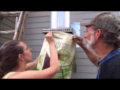 DIY - Cleaning the Wood Stove Pipe