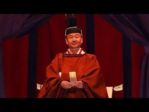 شاهد: ملوك وأمراء وقادة يحضرون مراسم تنصيب إمبراطور اليابان الجديد ناروهيتو للعرش…  - نشر قبل 2 ساعة