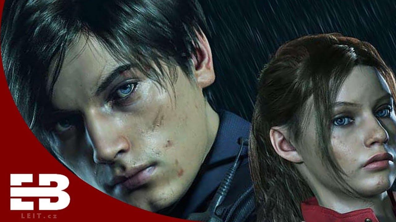 Resident Evil 2 Remake Leon Claire Actors Youtube