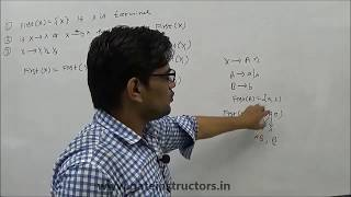 first and follow set in ll 1 predictive parsing examples   compiler design lecture   part 1   66