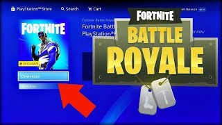 "How to get NEW FREE ""BLUE STRIKER"" SKIN in Fortnite! (PS PLUS ONLY)"