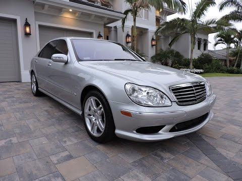 2003 mercedes benz s55 amg sedan for sale by auto europa naples youtube. Black Bedroom Furniture Sets. Home Design Ideas