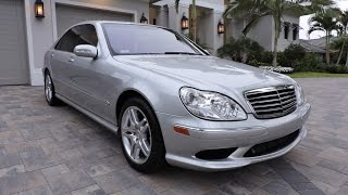 2003 Mercedes-Benz S55 AMG Sedan for sale by Auto Europa Naples MercedesExpert.com