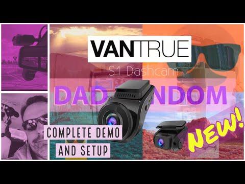 Vantrue S1 Dash Cam How To Video - Menu, Setup And Drive Test