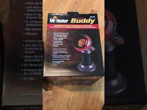 Mr. Heater Little Buddy Carbon Monoxide / CO Test