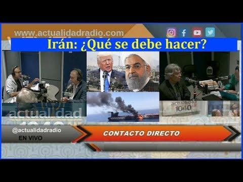 Irán: ¿Qué se debe hacer?