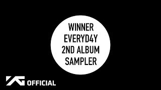 WINNER - THE 2ND ALBUM 'EVERYD4Y' SAMPLER