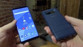 Подробный обзор Samsung Galaxy Note 8. #1 Комплектация, сканер отпечатка, экран, звук.