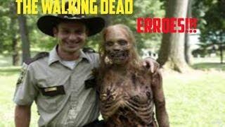 the walking dead Errores!!