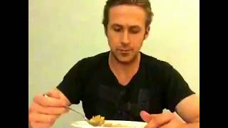 ryan gosling wont eat his cereal answer