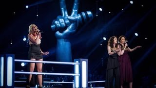 Leanne Jarvis Vs Carla and Barbara - 'Hero' (Full Video) - The Voice UK 2013