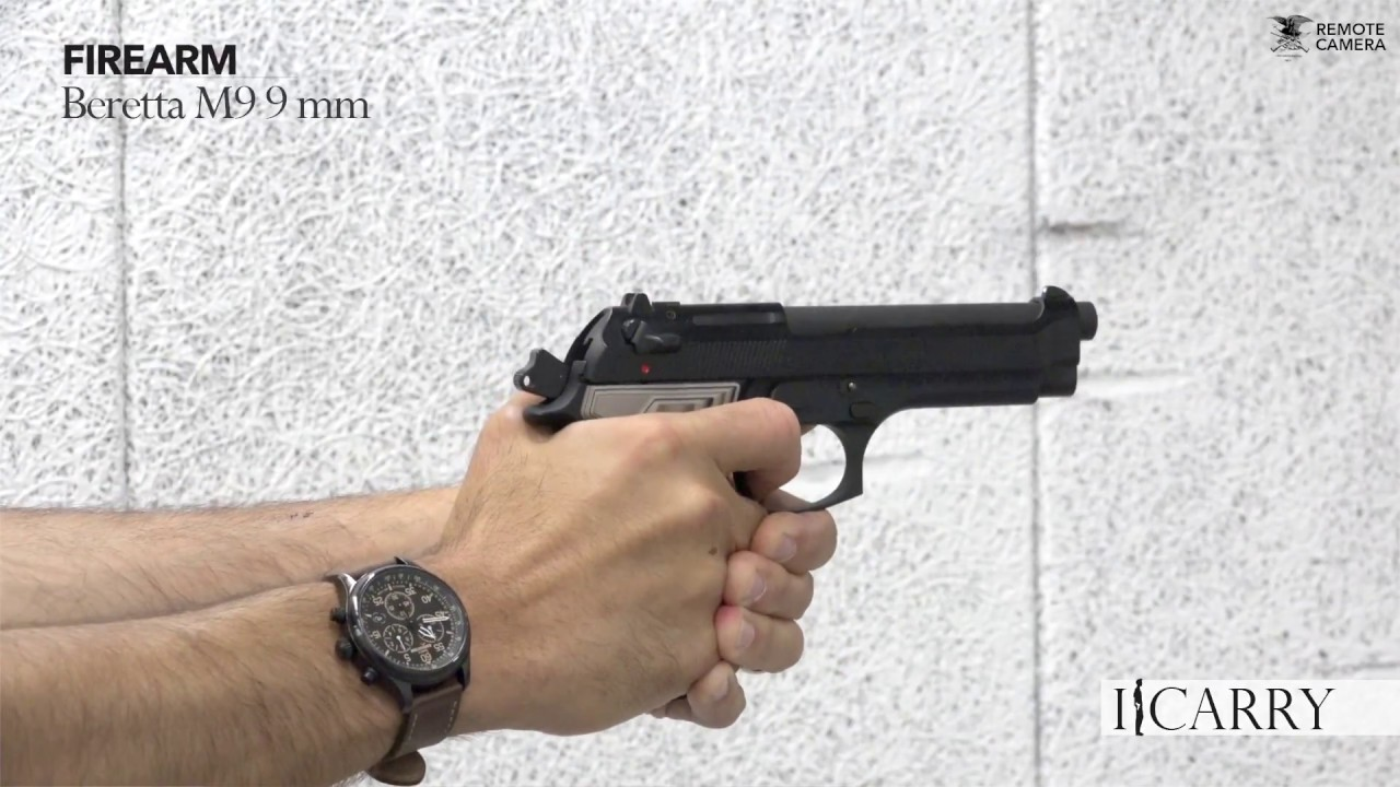 I Carry: Beretta M9 in a Galco Fletch Belt Holster