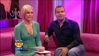 Jenni Falconer   Green Dress Cleavage   29 Feb 08 tvStars