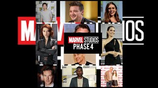 Marvel's MCU Phase 4 Movies and Stars REVEALED