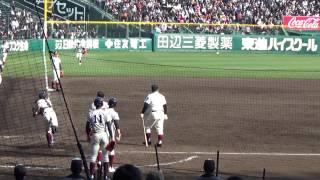 2017 センバツ 高校野球 大阪桐蔭 王者のシートノック