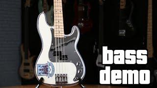 Fender Steve Harris Precision Bass Demo