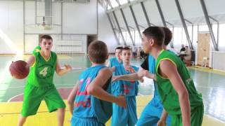 школьный баскетбол Батайск часть 2