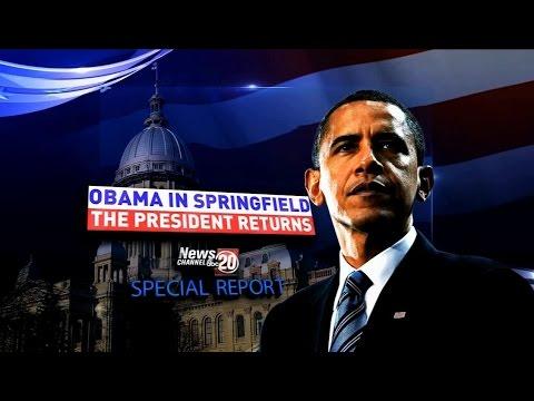 Obama Springfield Visit (Part 3)