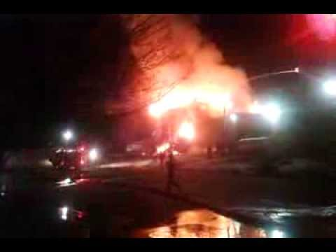 Colonial Beach Elementary School Fire - After Explosion - Video 3