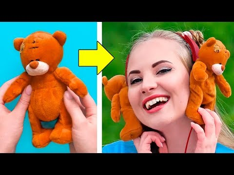 36 OLD TOYS HACKS AND CRAFT IDEAS