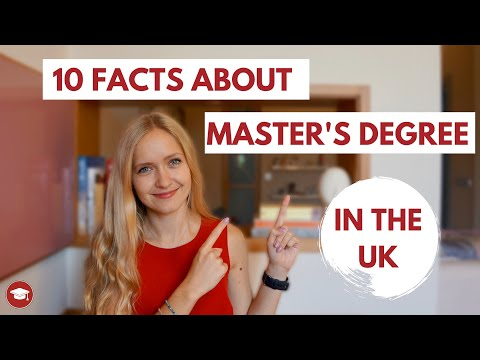 Master's Degree In The UK - 10 FACTS ABOUT MASTERS COURSES