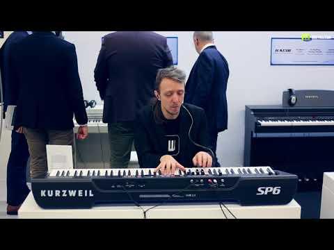 Nagrania dla muzykuj.com – Kurzweil SP6  – musikmesse 2018 gra: Kamil Barański www.muzykuj.com