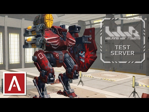 War Robots Test Server [2.6.1] - NEW Light Orb Weapon and Galahad / Gareth Paint Jobs