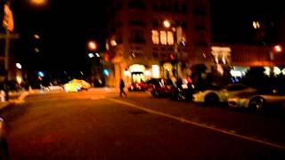 Ferrari 430 Scuderia BLASTING through San Francisco. INSANE sound!