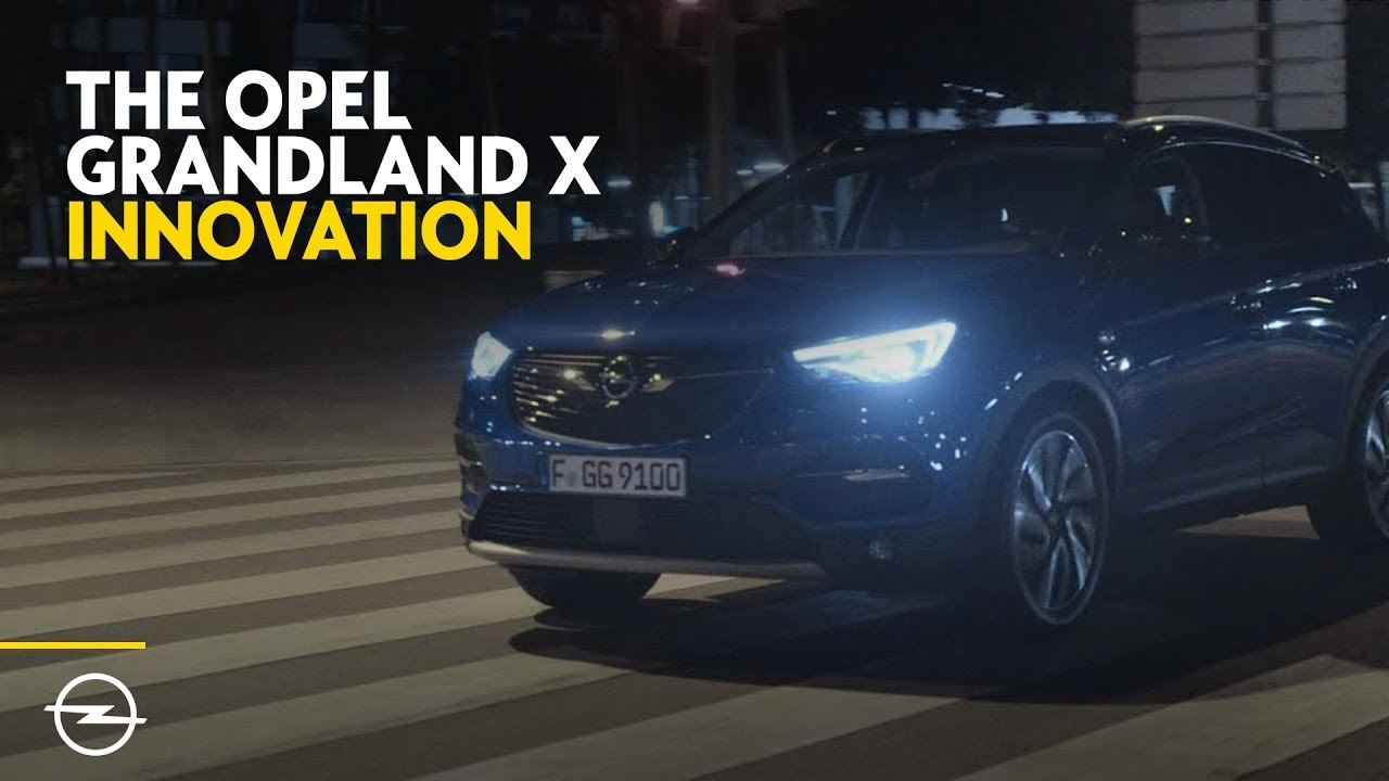 the opel grandland x smart innovation youtube. Black Bedroom Furniture Sets. Home Design Ideas