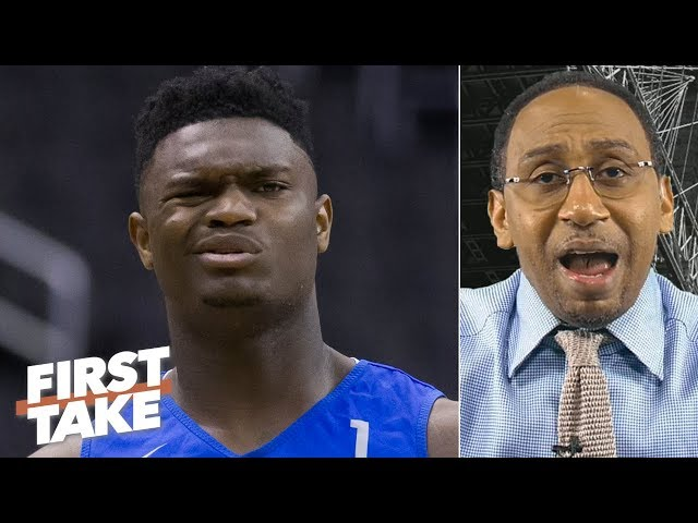 Zion Williamson shouldn't play for the Pelicans if he doesn't want to - Stephen A. | First Take
