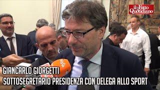 Giorgetti: