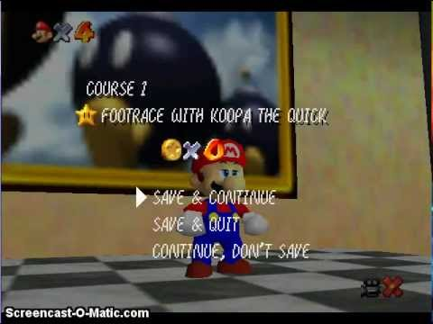 Footrace With Koopa The Quick Walk-through