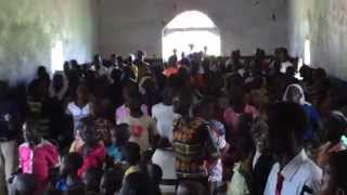Church Service at Pageri Eastern Equatoria