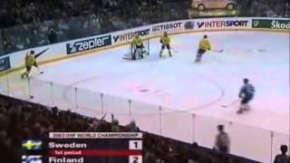 Jääkiekon MM Kisat 2003 Suomi - Ruotsi Puolivälierä OSA1 / 2