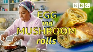 How to make lunch in 5 minutes! | Nadiya's Time to Eat - BBC