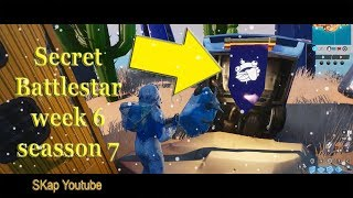 Fortnite - Secret Battlestar Season 7 Week 6 LOCATION